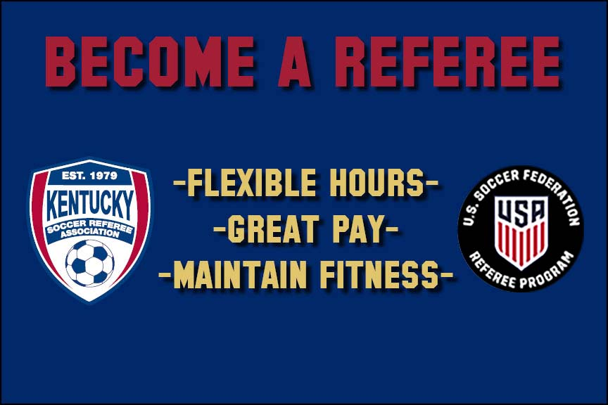 Learn How to Become a Referee!